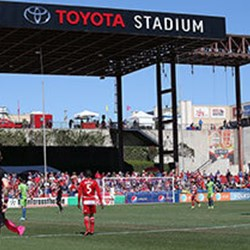 Toyota Stadium near The Grove Frisco