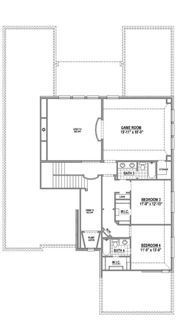 American Legend Plan 634 Floorplan in The Grove Frisco