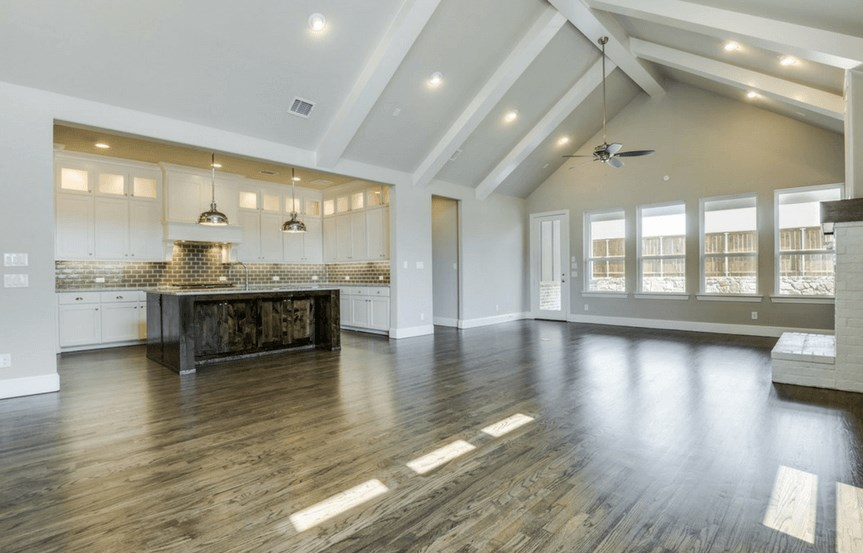 Southgate Homes Plan Charlotte Kitchen in The Grove Frisco