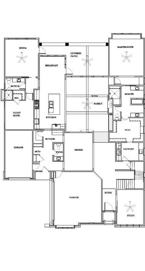 Southgate Homes Hanover Floorplan in The Grove Frisco