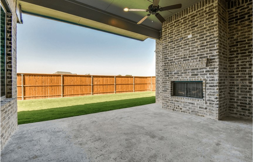 Southgate Homes Plan Madison Extended Patio in The Grove Frisco