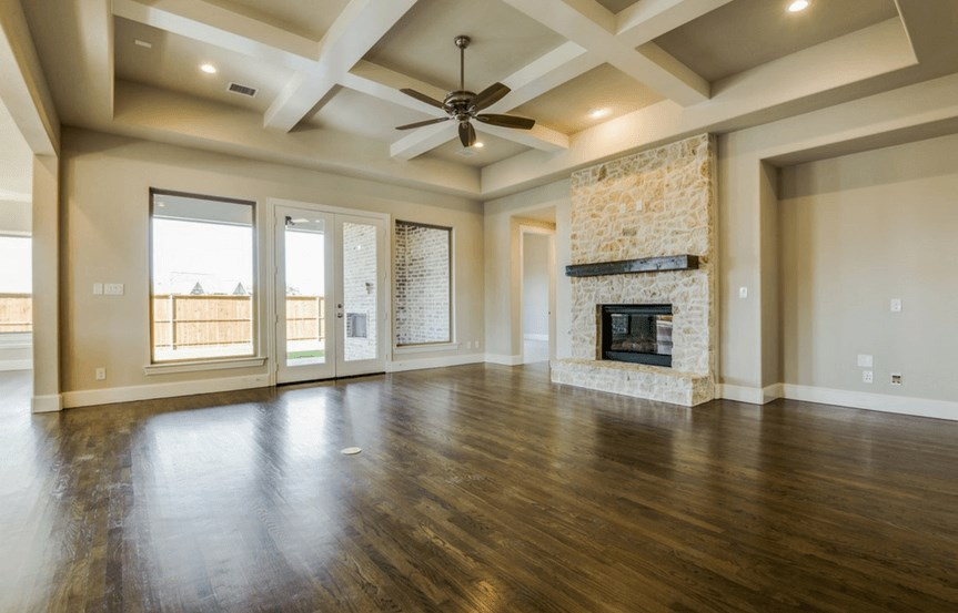 Southgate Homes Plan Madison Family Room in The Grove Frisco