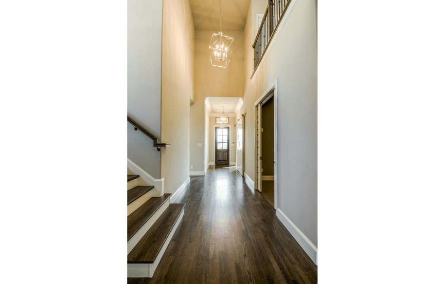 Southgate Homes Plan Madison Foyer in The Grove Frisco