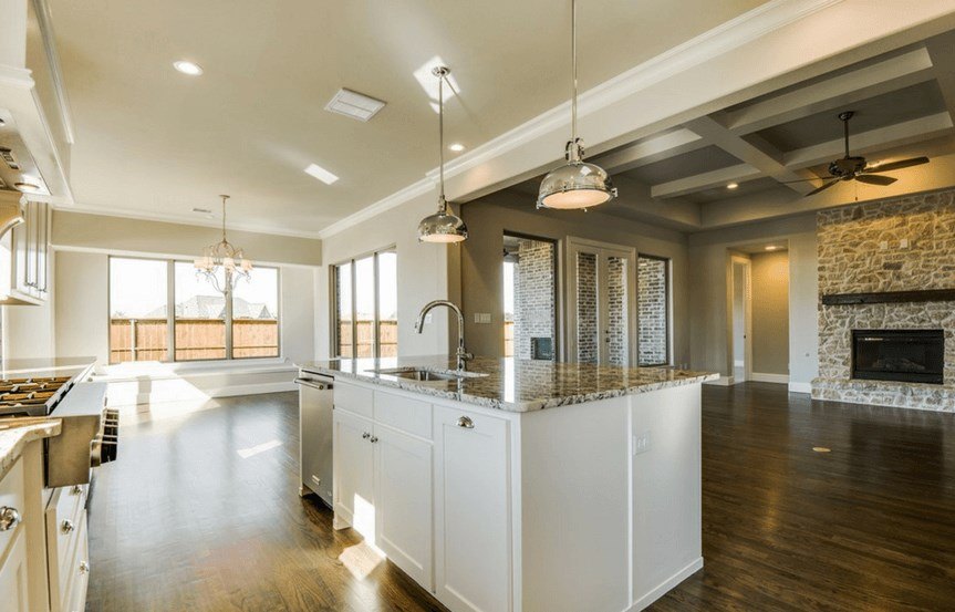 Southgate Homes Plan Madison Kitchen in The Grove Frisco