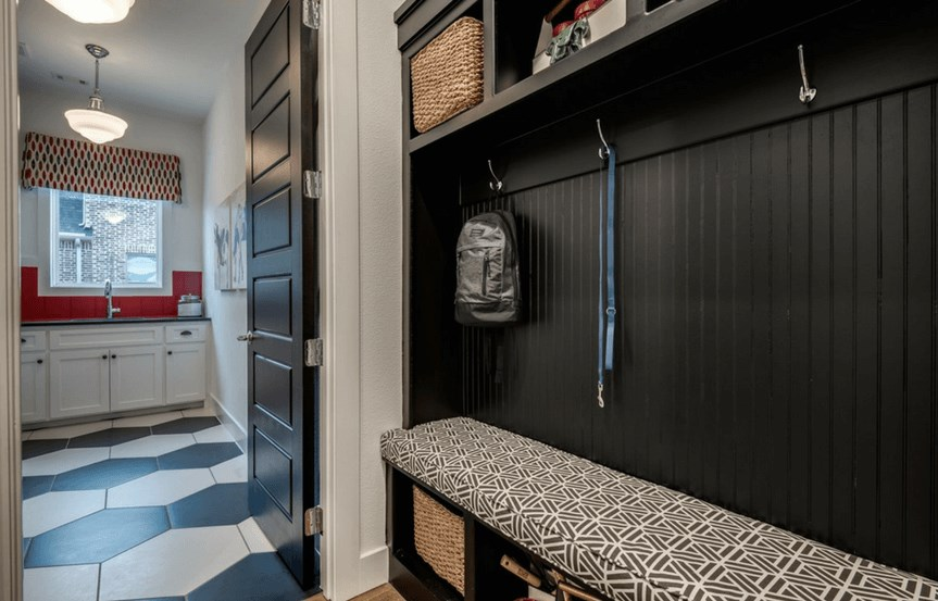 Southgate Homes Plan Montgomery Mudroom in The Grove Frisco
