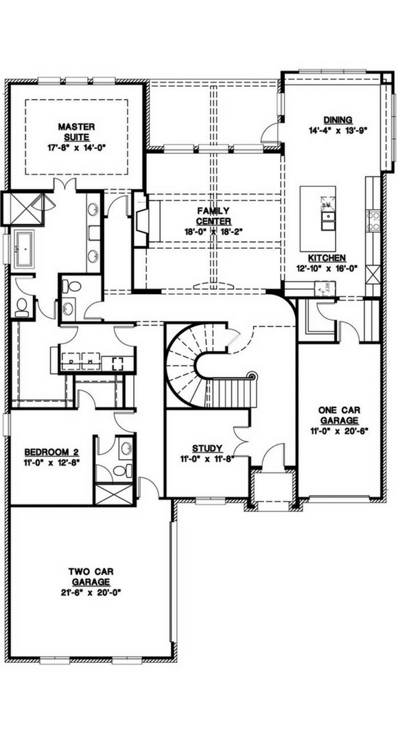 Southgate Homes Sutton Floorplan in The Grove Frisco