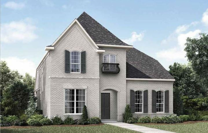 Drees Homes Plan Marigold Elevation B in The Grove Frisco