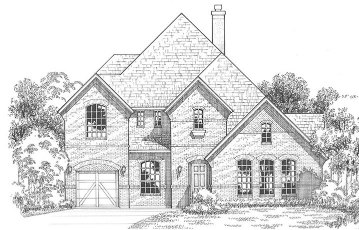 American Legend Plan 694 Elevation A in the Grove Frisco