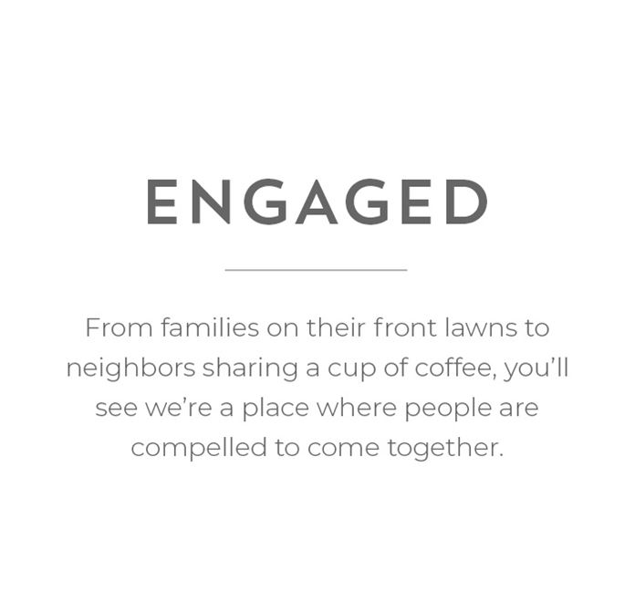 Engaged - A place where people are compelled to come together