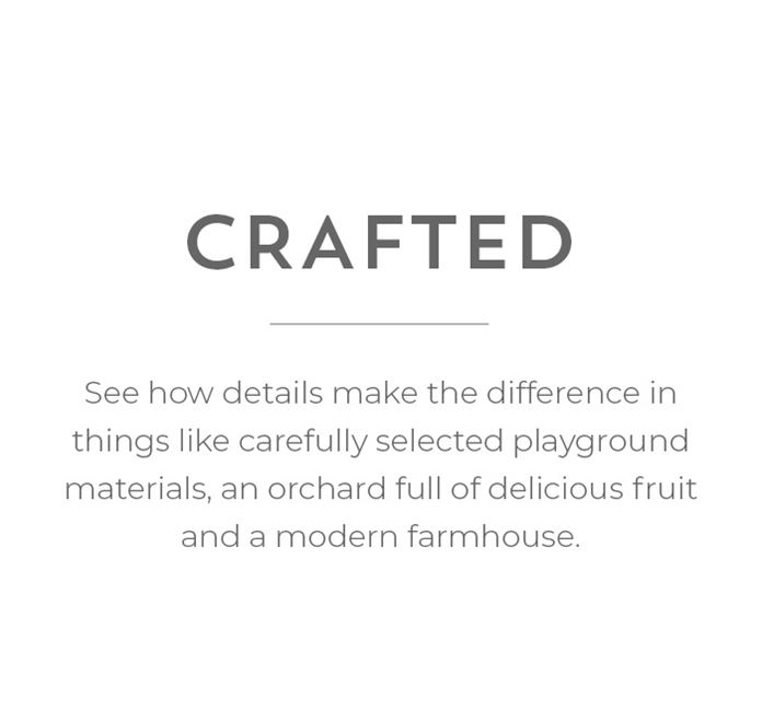 Crafted - Our details make the difference