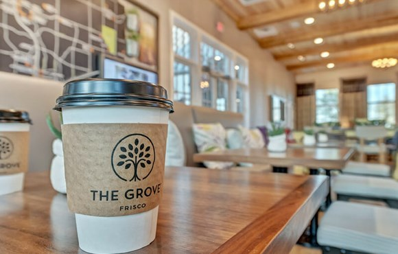 Coffee at The Grove Frisco