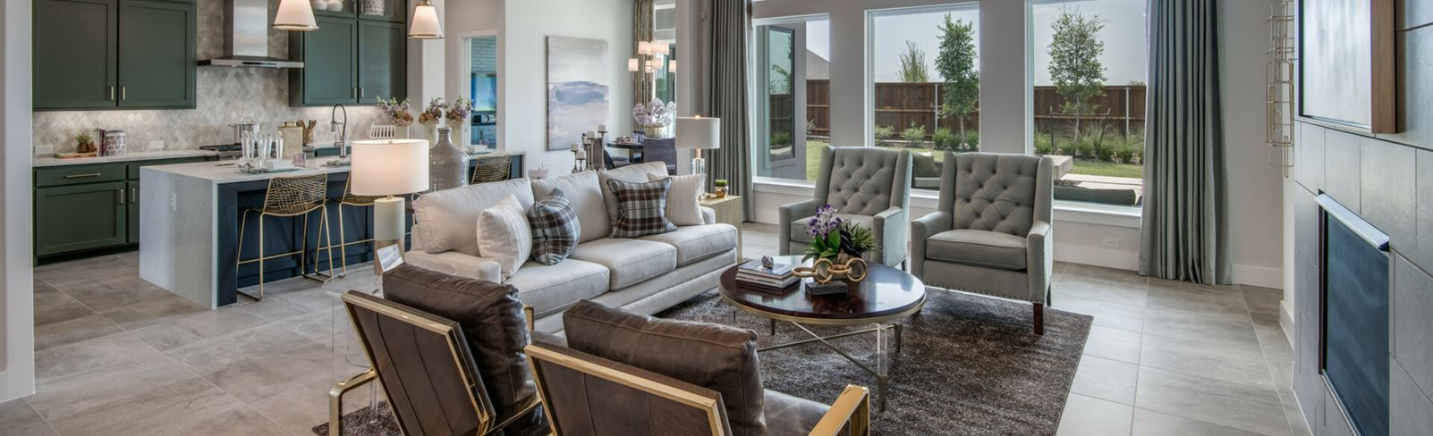 Southgate Homes family room | The Grove Frisco