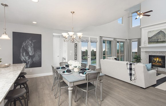 Plan 1554 Model Home By American Legend At The Grove Frisco Tx