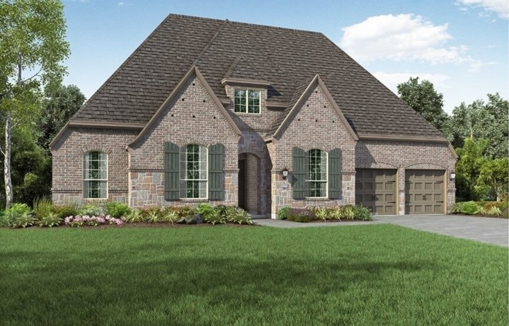 Highland Homes at The Grove Frisco - Plan 271 - Elevation E
