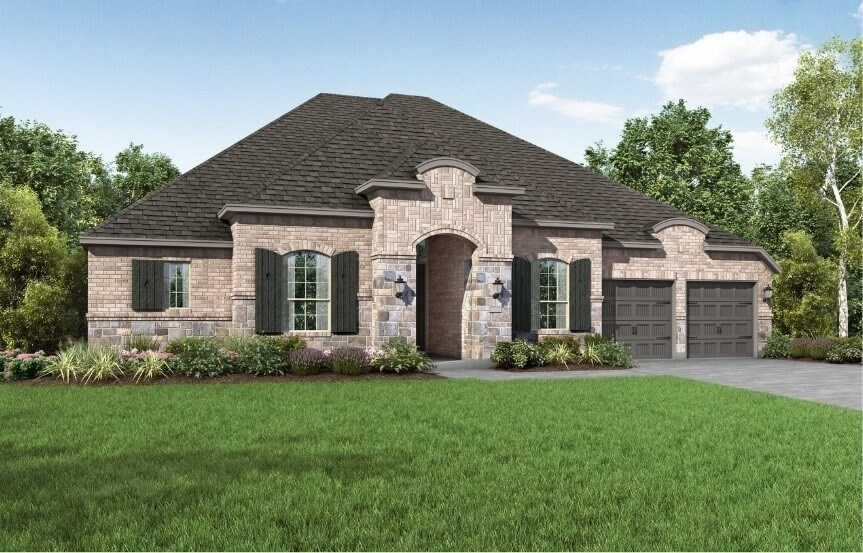 Highland Homes at The Grove Frisco - Plan 271 - Elevation L