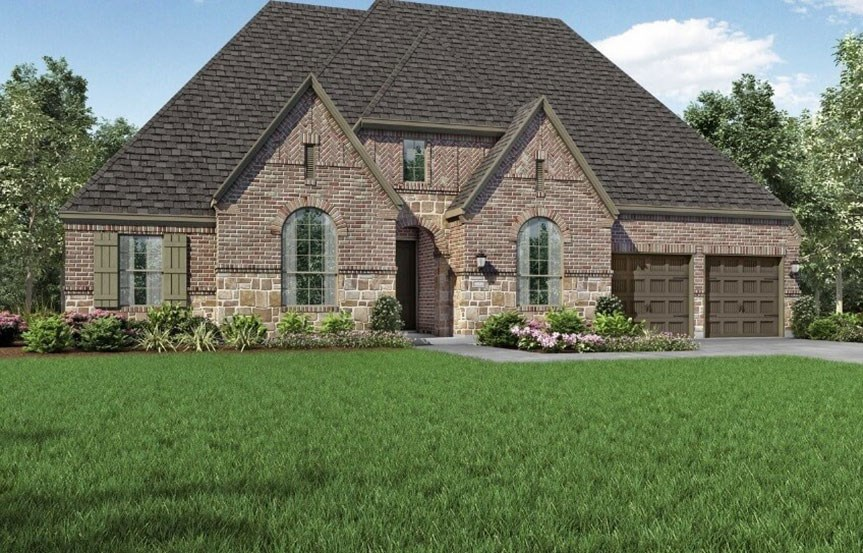 Highland Homes at The Grove Frisco - Plan 271 - Elevation D