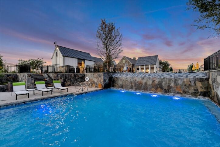 Orchard House Pool and Amenity Center | The Grove Frisco in Texas