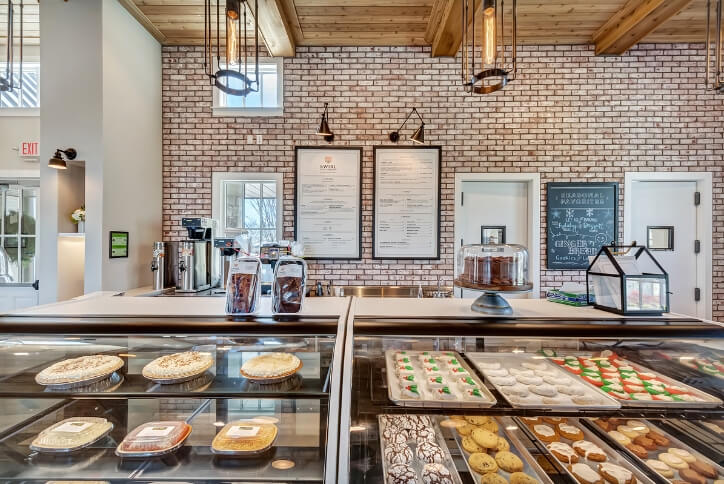 Swirl Cafe and Bakery at The Grove Frisco in Texas