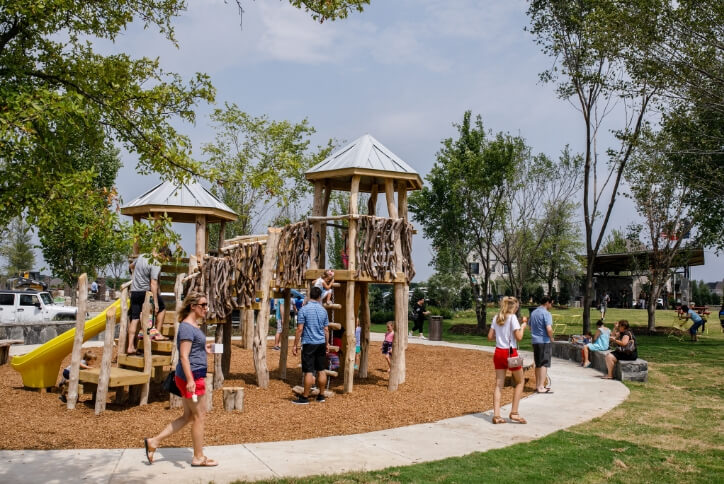 Adventure Playground at The Grove Frisco in Texas