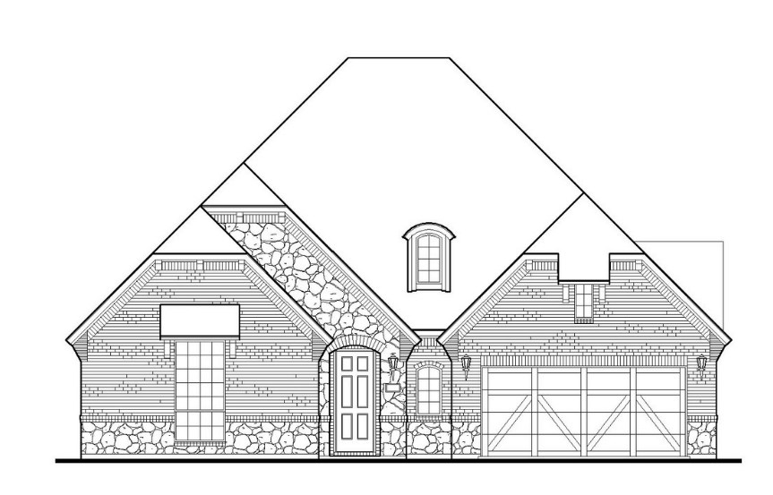 American Legend Plan 1631 Elevation B in TGF