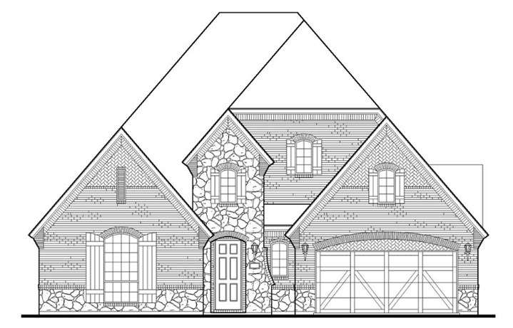American Legend Plan 1631 Elevation C in TGF