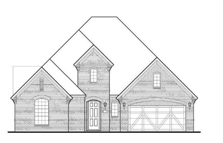 American Legend Plan 1630 Elevation A in TGF