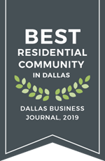 2019 Best Residential Community in Dallas | Dallas Business Journal | The Grove Frisco