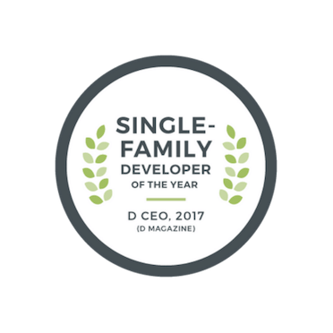 2017 Single Family Developer of the Year - DCEO | The Grove Frisco in Texas