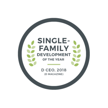 2018 Single Family Development of the Year - DCEO | The Grove Frisco in Texas