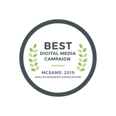 2019 Best Digital Media Campaign - McSam Awards | The Grove Frisco in Texas