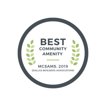 2019 Best Community Amenity - McSam Awards | The Grove Frisco in Texas