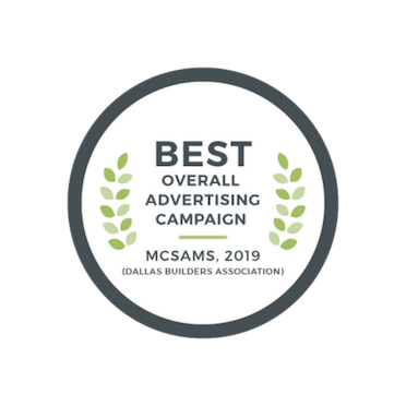 2019 Best Overall Ad Campaign - McSam Awards | The Grove Frisco in Texas