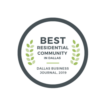 2019 Best Residential Community - Dallas Business Journal | The Grove Frisco in Texas