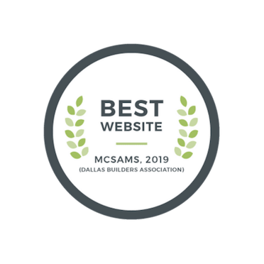 2019 Best Website - McSam Awards | The Grove Frisco in Texas