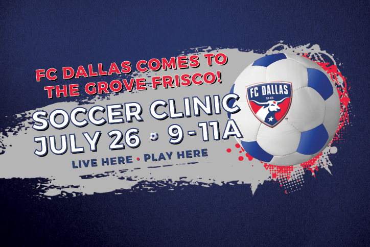 FC Dallas comes to The Grove Frisco community