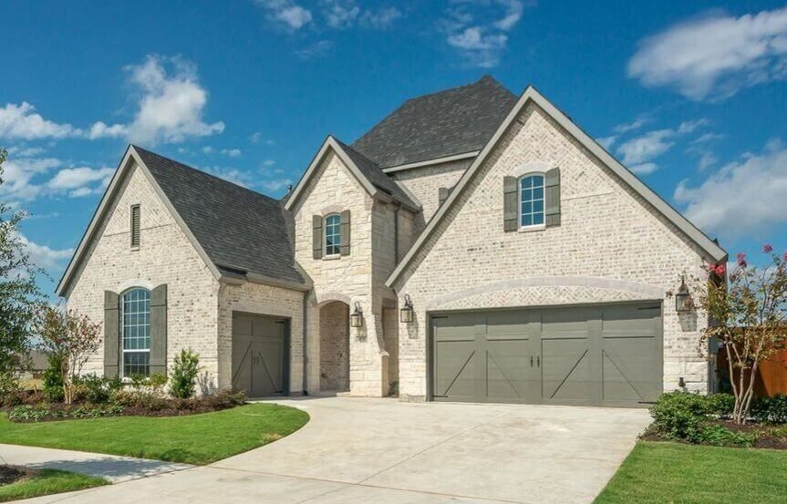 8555 Twistpine Road American Legend Homes Plan 1631C in the Grove Frisco