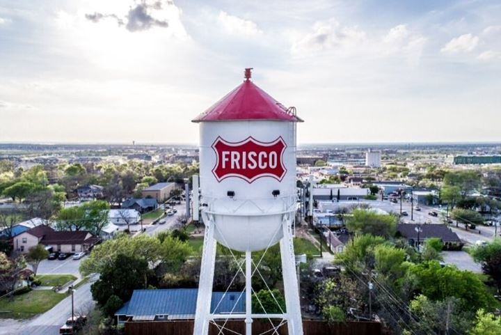 Frisco water tower | The Grove Frisco