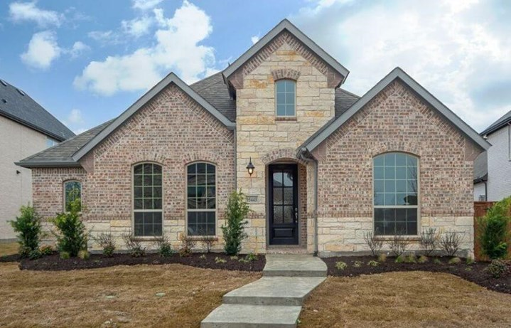Plan 1591 American Legend Homes in The Grove Frisco