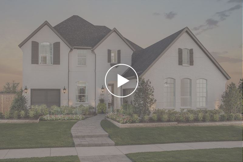 American Legend Homes Model Home Virtual Tour at The Grove Frisco