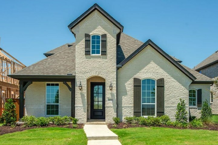8591 Anacua American Legend Plan1590C Exterior in The Grove Frisco