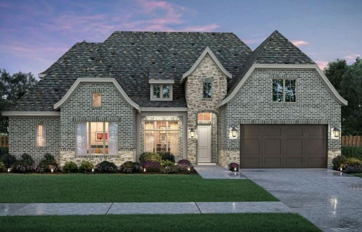 Dylan Elevation A Southgate Homes in the Grove Frisco