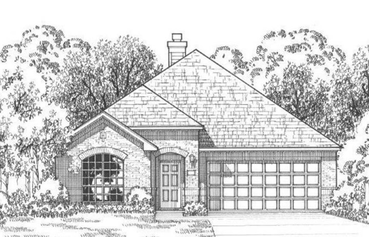 Plan 1152 Elevation A American Legend in The Grove Frisco