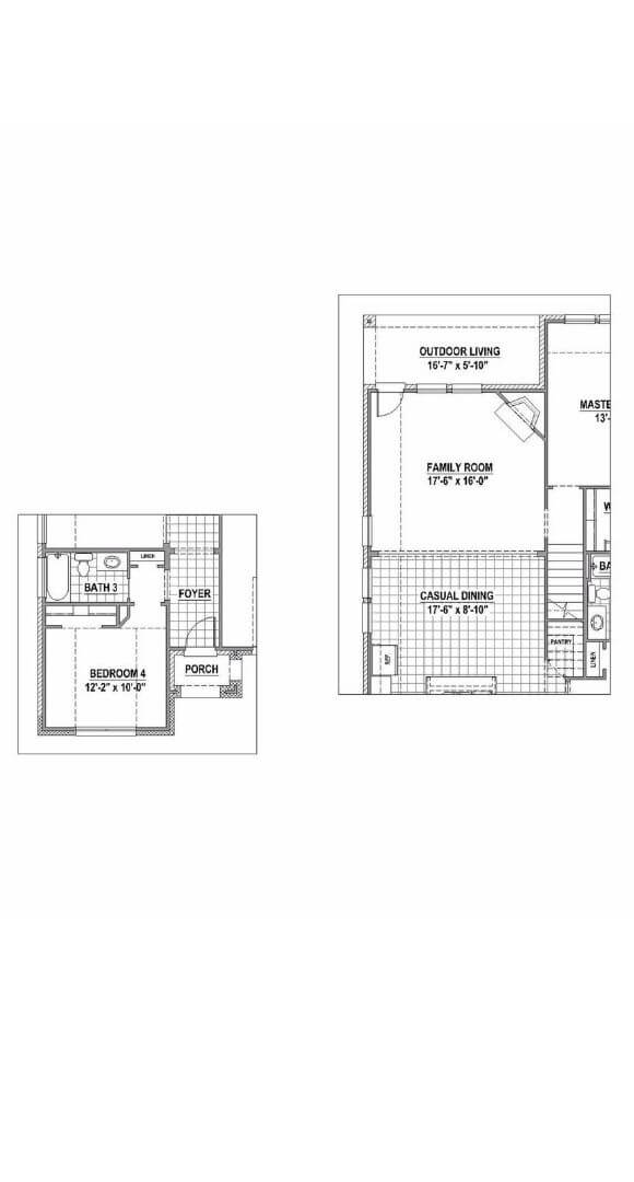 American Legend 1152 Floorplan Options in The Grove Frisco