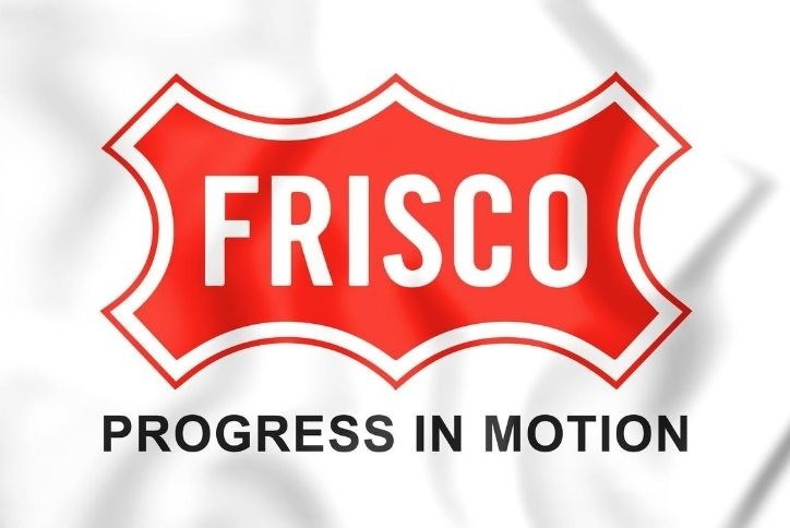 Frisco city logo - Progress in Motion