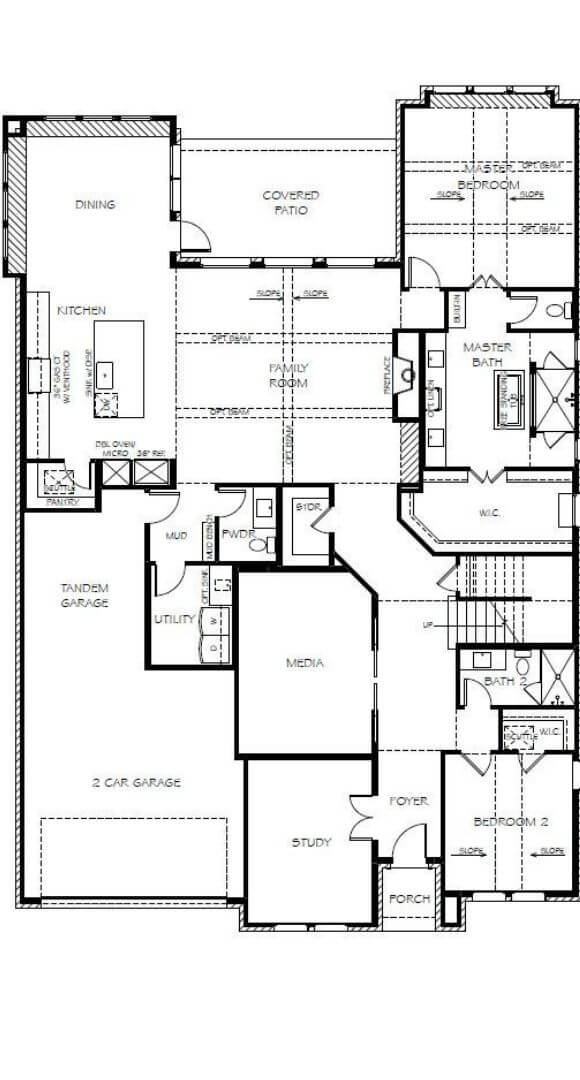 Southgate Homes Shelby Floorplan in The Grove Frisco